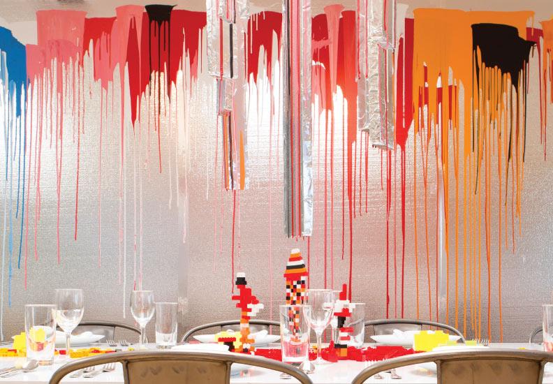The Rinehart Dining Room - at Palos Verdes Art Center, California.