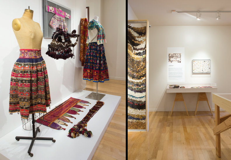 Curated and designed exhibition - Acquired Objects: textiles, tools and notions. The Judith Solomon Collection. October 10 - January 4, 2015.